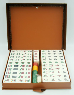 Classic Dynasty Singapore Traditional Mahjong Set