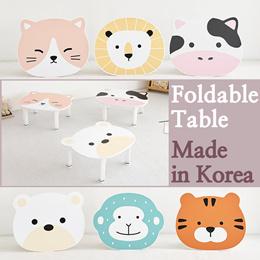 [Petit Kids Small Table]Multipurpose Safety Foldable Folding Mini Desk★6Kinds Child/Tea Table★Korea