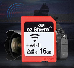 Toshiba Genuine WiFi SD Card 16G High Speed Wireless Flashair Digital SLR Camera Memory Card 16GB