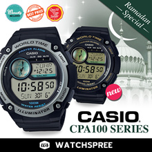 *CASIO GENUINE* [LIMITED OFFER]*FREE SHIPPING* Islamic Prayer Watch CPA100 Series.