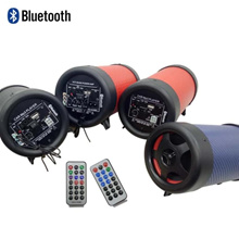 Motorcycle audio belt with Bluetooth electric car motorcycle modified speaker anti-theft subwoofer w