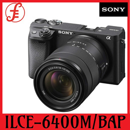 SONY DSLR CAMERA ILCE-6400M/BAP 24.2 MEGAPIXELS DIGITAL CAMERA APS-C TYPE EXMOR CMOS SENSOR