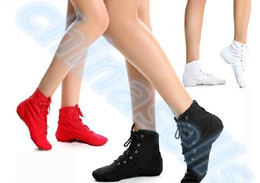1pairs Adult kid Jazz Dance Shoes Lace Up Boots Woman Jazz Sneaker Dance Shoes Soft Light Weight Jaz