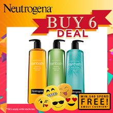 Buy 6 Deals!! [NEUTROGENA] Rainbath Refreshing/ Renewing Pear Green Tea/Replenishing Ocean Mist