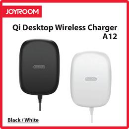 Joyroom Qi Desktop Wireless Charger A12 (Black/White) 30 Day Local Warranty