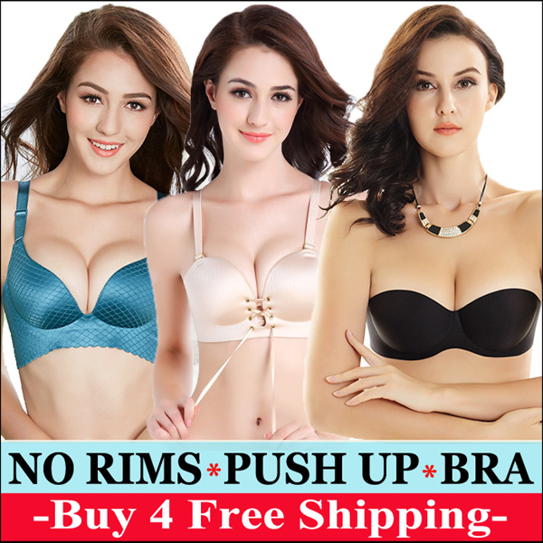 NEW READY STOCK WIRELESS NO RIMS PUSH UP BRA LINGERIE PANTIES/COMFORT BRA/LADIES UNDERWEAR Deals for only RM25.8 instead of RM25.8