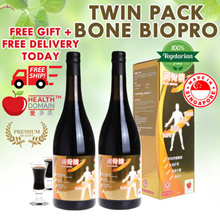 TWIN PACK 2 X 750ML BONE BIOPRO 100% Chinese Herbs + FREE DR GINGER TEA + FREE  DELIVERY! PROMO!!