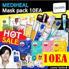 🤲MEDIHEAL🤲MASK SHEET 10pcs😍HOT DEAL ENCORE BY CUSTOMER✌️DONT MISS THE CHANCE✌️