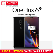 OnePlus 6T Mirror/Midnight Black A6013 6+128GB / 8+128GB / 256GB Ready Stocks Local 1 Year Warranty