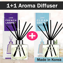 [1+1] Korea Best Aromatherapy Reed Diffuser/Car Diffuser/Aroma/Teachers Day Gift/Gifts/Made in Korea/Essential Oil Diffuser/Coconut