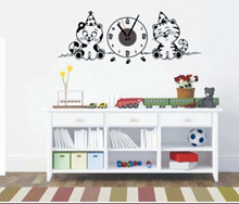 Buy 5 get 1 /The cheapest-Wall sticker+clock silent- No Ticking Sound-Over night delivery9