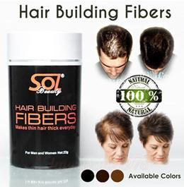 SOL Beauty Hair Building Fibers Fiber Fibre 22g for Hair Loss / Fall