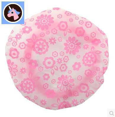 Eco-friendly and durable waterproof shower cap elastic comfort of home bathing beauty dry hair
