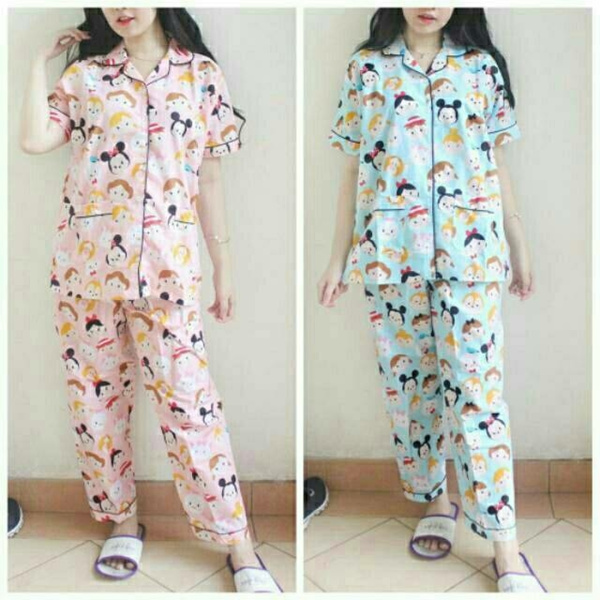 Trendy Pajamas Motif Collections High Quality Deals for only Rp75.000 instead of Rp75.000