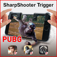 PUBG Sharpshooter Assist Button L1R1 Control Gaming Controller Games Shooter For Mobile Phones