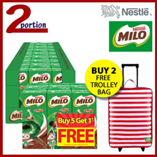 1 Carton 24x200ml MILO® UHT Chocolate Malt Packet Drink  [Buy 2 Carton Get Free Trolley]