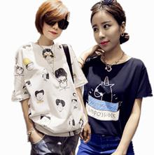 Korean Street Look Top/ T-Shirt/dress