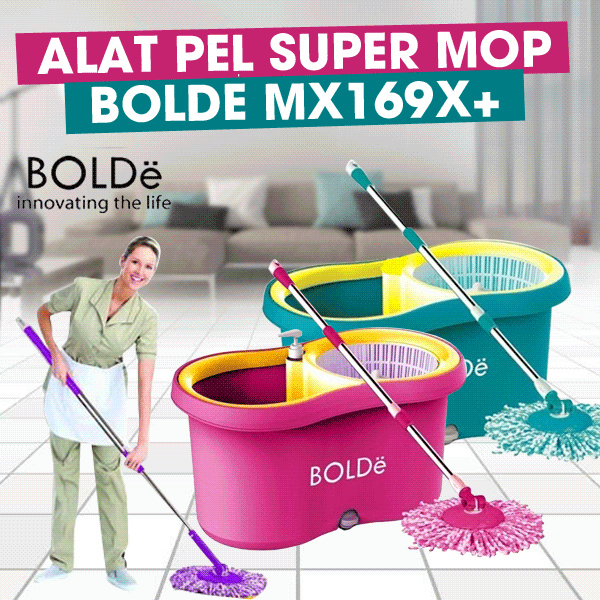 Alat Pel Super MOP BOLDe MX169X+ Deals for only Rp245.000 instead of Rp245.000