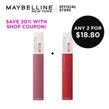 SAVE $17! Superstay Matte Ink Liquid Lipsticks