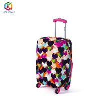 Luggage cover (Colourful Love)