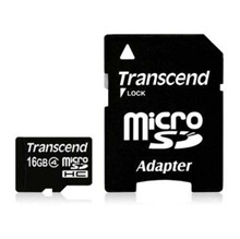 【Mail service free shipping】 Transcend MICRO SDHC card 16GB TS16GUSDHC4 (CLASS 4)
