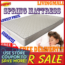 8.5inch Queen size SPRING mattress | Lowest in Qoo10 ! | All other sizes availables