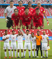 SINGAPORE NATIONAL CEREBRAL PALSY FOOTBALL TEAM APG 2015 JERSEY