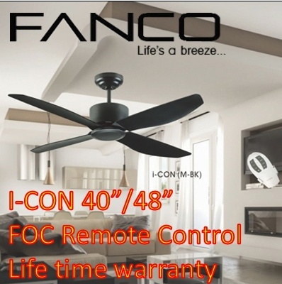 Fanco Ceiling Fan Icon 40 Inch 48 I Con
