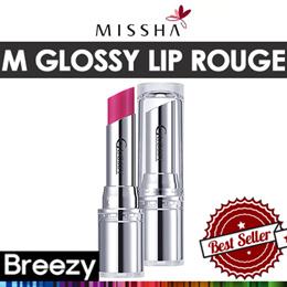[BREEZY] ★ [MISSHA] M Glossy Lip Rouge SPF13 4g