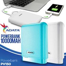 Adata Powerbank PV150 | Real Capacity 10000maH - Garansi