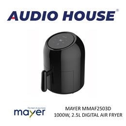 MAYER MMAF2503D 1000W 2.5L DIGITAL AIR FRYER***1 YEAR WARRANTY***