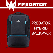 Predator Hybrid Backpack For Up to 15.6-Inch Laptop