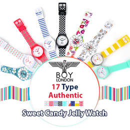 f6b1a865b277  BOY LONDON  ♥New Update ♥ Authentic♥ 17Type Sweet Candy Jelly Watch  Collection
