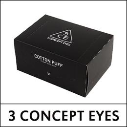 [3 CONCEPT EYES] Cotton Puff - 1Pack (80pcs)