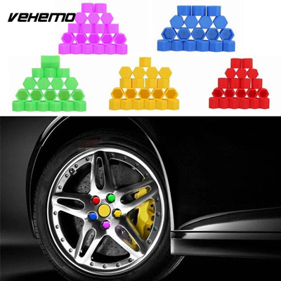 Qoo10 Cars Vehicles Tire Wheel Tyre Screw Cap Decorative Colorful