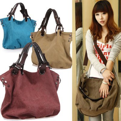 044244b7ed Special Promotion Women Bucket Shoulder Tote Europe Design Canvas Sling Bag  Dxyizu Handbag