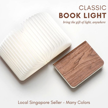 Folding Book Light / Night Lamp ~ Limited Sets at 11.99 ~ Portable Beautiful Elegant