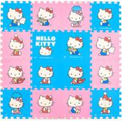 Genuine hello kitty Cute Cartoon Mat Puzzle Child Climbing Mat Crawling pad Bedroom Foam Cushion