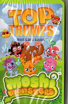 [USA Shipping] Top Trumps Moshi Monsters War Card Game