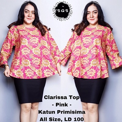 Blouse Clarissa Pink