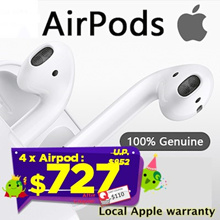 4 x Apple AirPods Wireless headset ★ Local APPLE Warranty★ Authentic Product