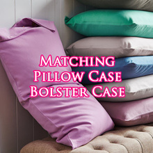 Pillow Cases and Bolster Cases For Matching Bedsheet Set ♥ Bring Your Good Night Sleep!