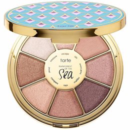 Makeup Tarte Limited Edition Rainforest of The Sea Highlighters Eyeshadow Palette 8 Colors Eye Shado