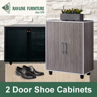 Best Selling 2 Door Shoe Cabinet | Free Delivery and Installation | 2 Different models! Deals for only S$109 instead of S$0
