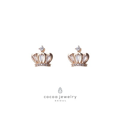 Cocoa Jewelry Anting Royal Crown 16-XPE-02