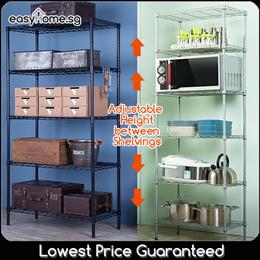★SALE★ XM Storage Shelves Microwave Rack / Washing Machine Rack Toilet Rack Space Saving Organizer