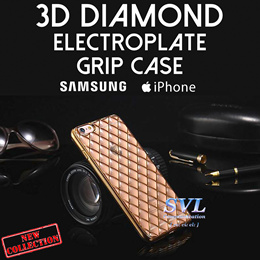 3D DIAMONDS GRID CASE for Iphone | Samsung |