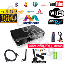 Best Digital DVB-T2 Set Up Box Free Gift Digital Antenna➕Wifi Antenna➕HDMI➕2 X AAA Batteries