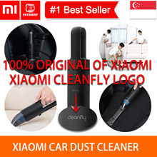 💖Cleanfly Logo💖[Xiaomi Cleanfly Car Dust Cleaner] Wireless Portable Vacuum Hand-Helded Mini Dust