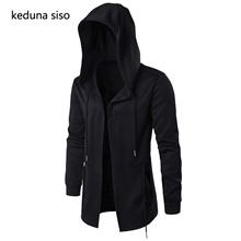 wholesale Hoodies Men Black Cardigan Hoodie Men Hooded Mantle Assassin Creed Clothing M-5XL Hoodies